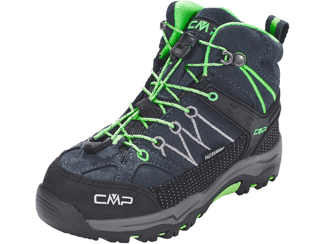 CMP Campagnolo Rigel Mid WP Trekking Shoes Barn asphalt-ice mint
